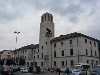 Aosta, piazza della Repubblica