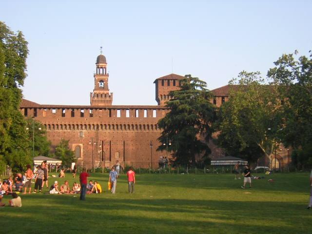 Milano. Castello sforzesco