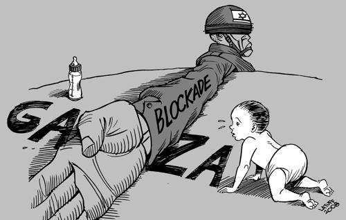 Disegno di Carlos Latuff